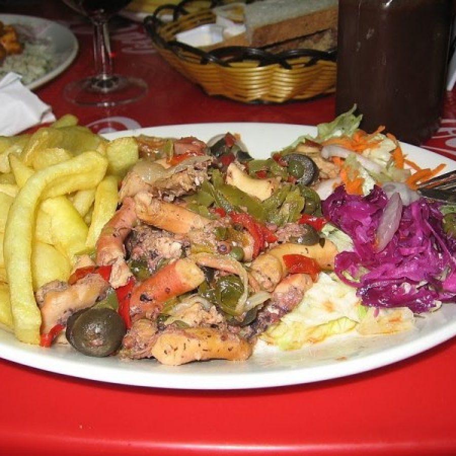 Мальта, блюдо из осьминога
