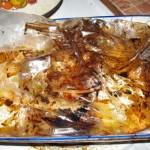 свинина нашпигованая чесноком и картофель