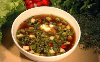 окрошка - холодный суп
