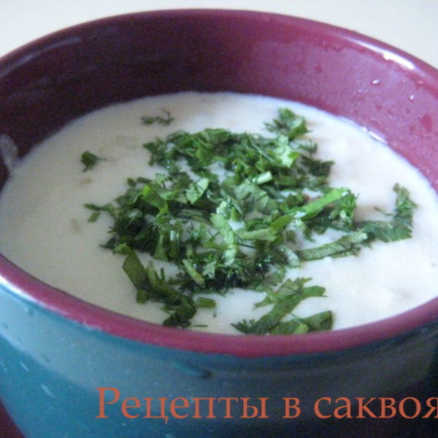 грузинская кухня, суп из мацони