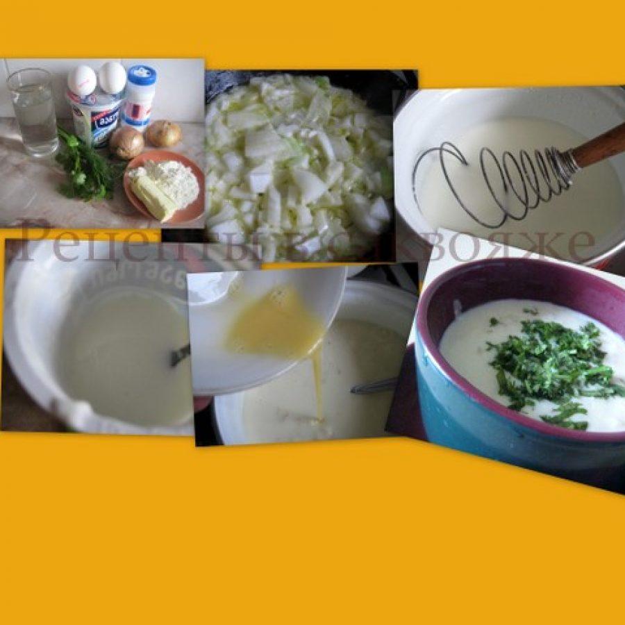крем суп из мацони