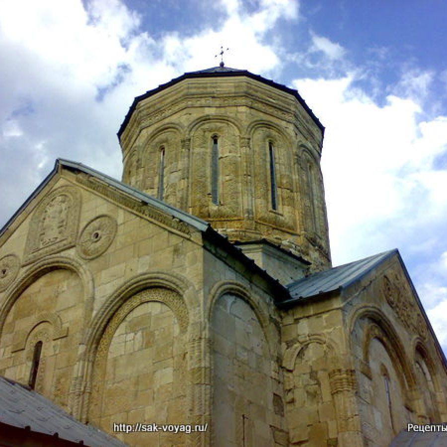село Герети – церковь Святой Троицы – Цминда Самеба