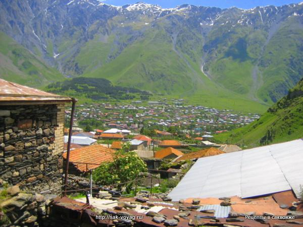 Грузия Казбеги