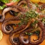 осьминожек из духовки