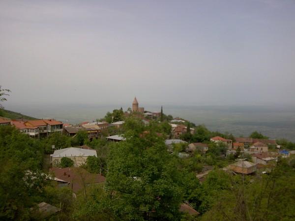 Кахетия, вид на Алазанскую долину