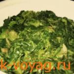 грузинская кухня - пхали, как приготовить шпинат с орехами