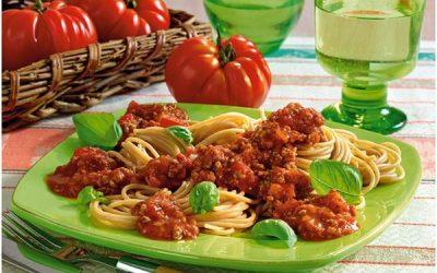 рецепты итаальянской кухни, паста под соусом болоньезе