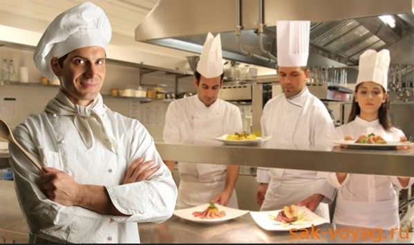 персонал в ресторане