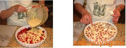 как приготовить пирог с вишней
