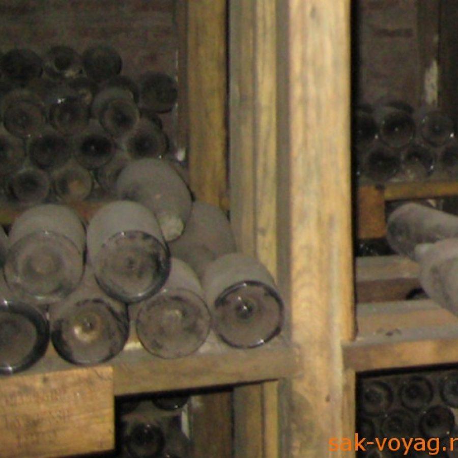 Цинандали, энотека, музей, хранилище вина