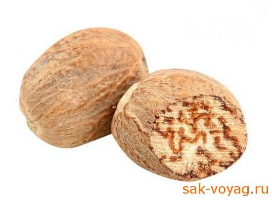 мускатный орех пряности, афродизиаки