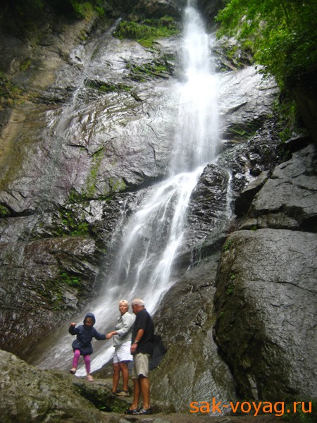 Грузия, водопады Аджарии, Махунцети