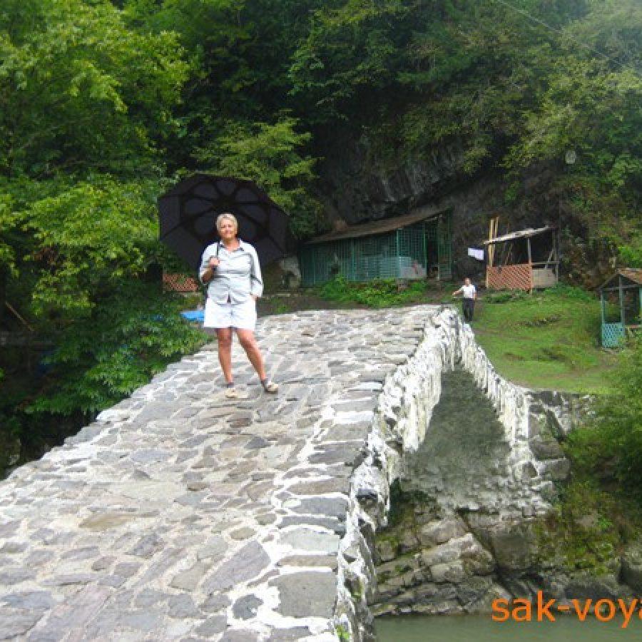 Грузия, Аджария, арочные мосты Тамары, Махунцети