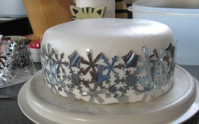 торт Новогодний с глазурью