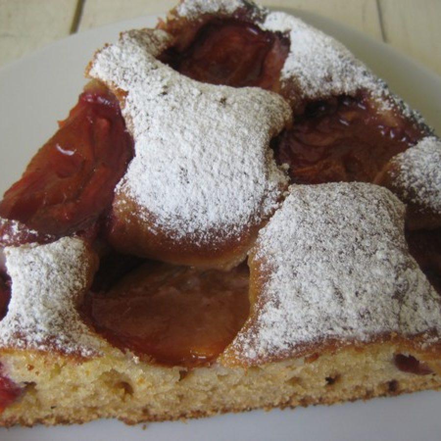пошаговый рецепт пирог со сливами