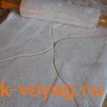 слоеное тесто для трубочек с заварным кремом