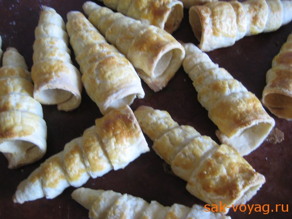 Трубочки с заварным кремом пошаговый рецепт