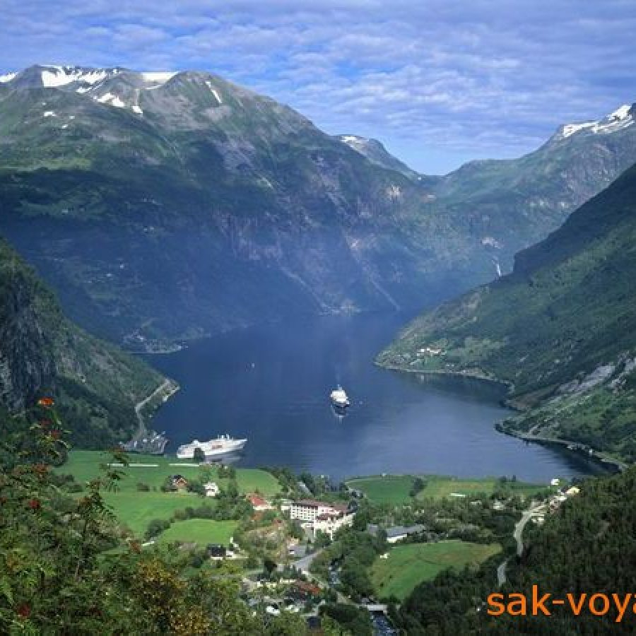 Норвегия, рыбалка, фьорды