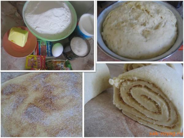 рецепт классические финские булочки с корицей korvapuustit