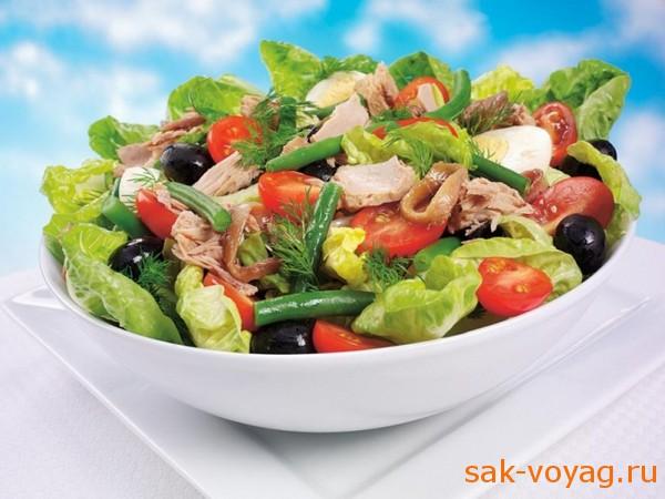 как приготовить салат с тунцом