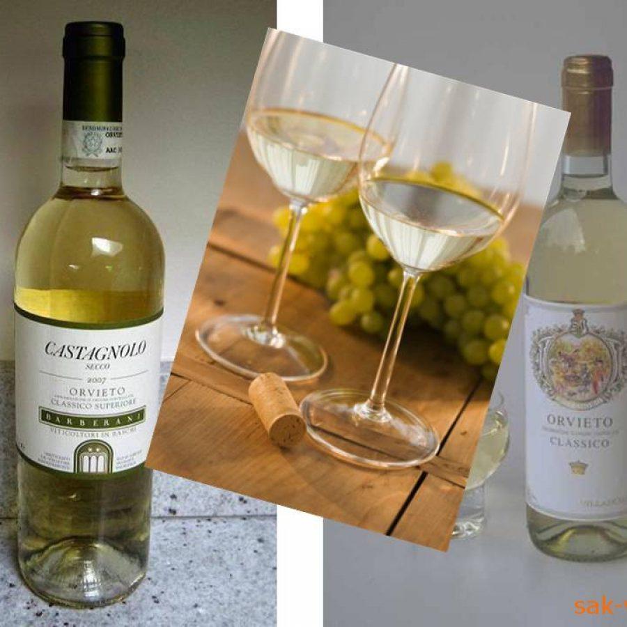 Орвието вино Италии