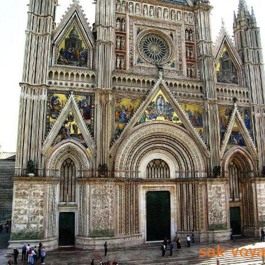 Duomo Орвието тур в Италию