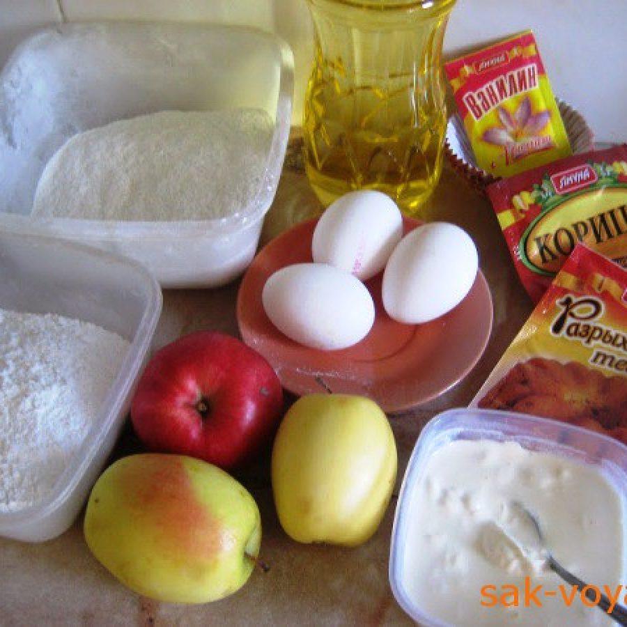 """как испечь яблочные кексы """"Шебби-шик"""""""