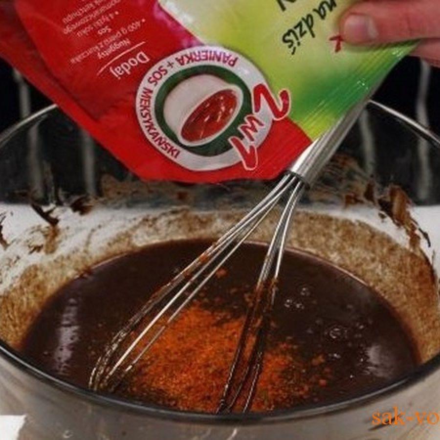 как приготовить отбивные из индейки с пикантным шоколадным соусом