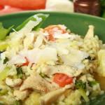 как приготовить ризотто с курицей и овощами, пошаговый рецепт с фото