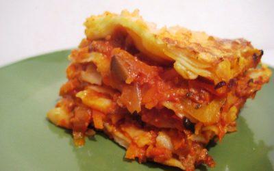 лазанья с мясом и грибами пошаговый рецепт с фото