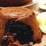 как приготовить шоколадное суфле на день святого Валентина
