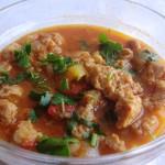 блюдо в пост - рагу из сои