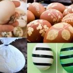 как покрасить яйца на паску