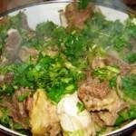 хашлама - блюдо грузинской кухни