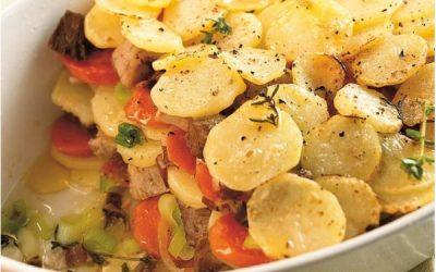 постное диетическое вегетарианское блюдо овощная запеканка