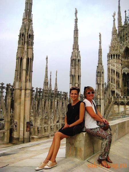 Италия Миланский собор Дуомо