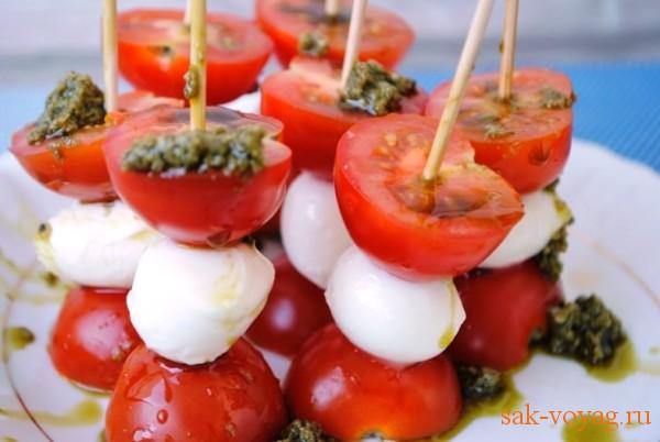 салат капрезе рецепт итальянской кухни