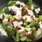 Рецепт Салат «Гурман» с грудкой цыпленка и виноградом