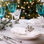 Новый год сервировка стола