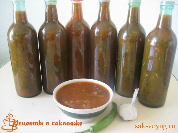 соус из зрелых слив ткемали грузинская кухня пошаговый рецепт с фото