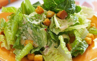 рецепт салат цезхарь