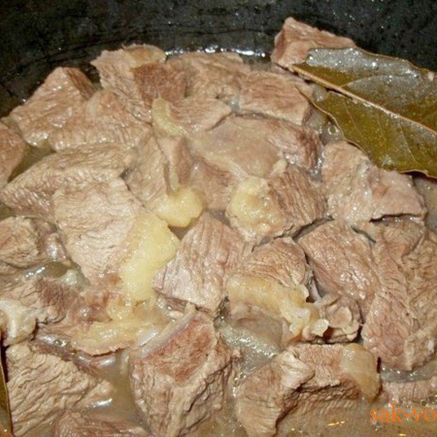 пошаговое фото рецепт тушеной острой говядины