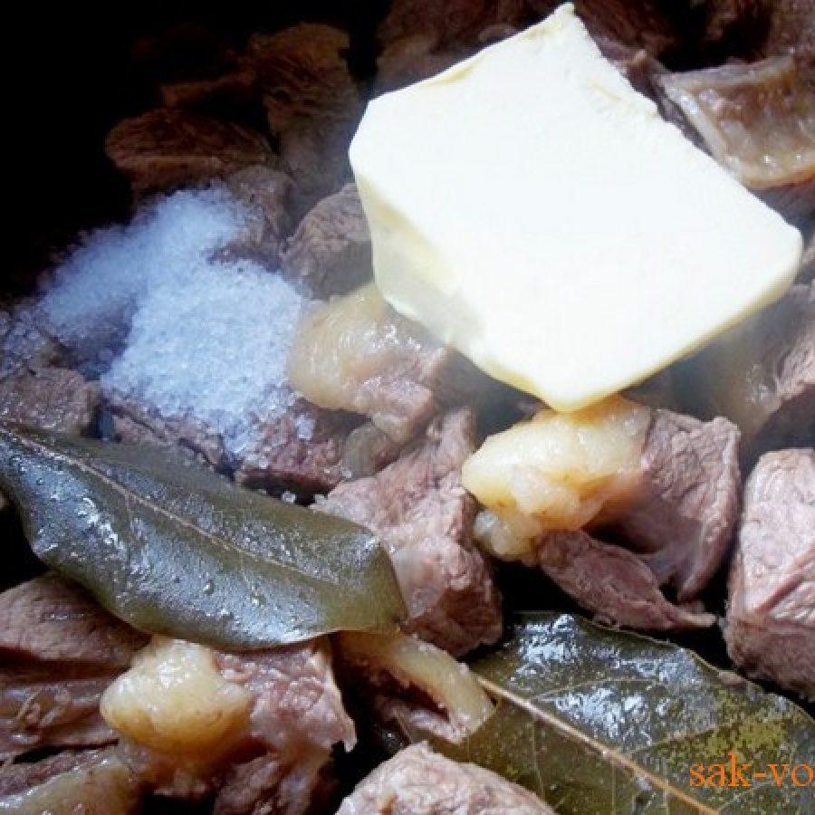 пошаговое фото рецепт тушеной острой говядины по-грузински остри