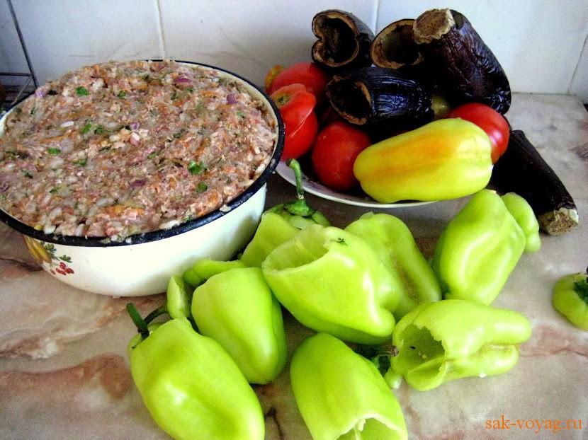 Перец с овощами рецепт с фото пошагово