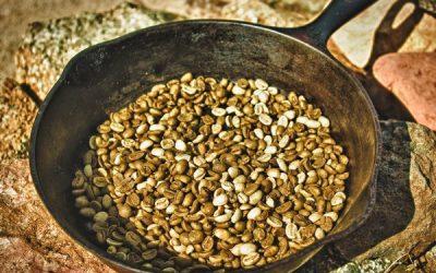 как правильно обжарить зеленый кофе