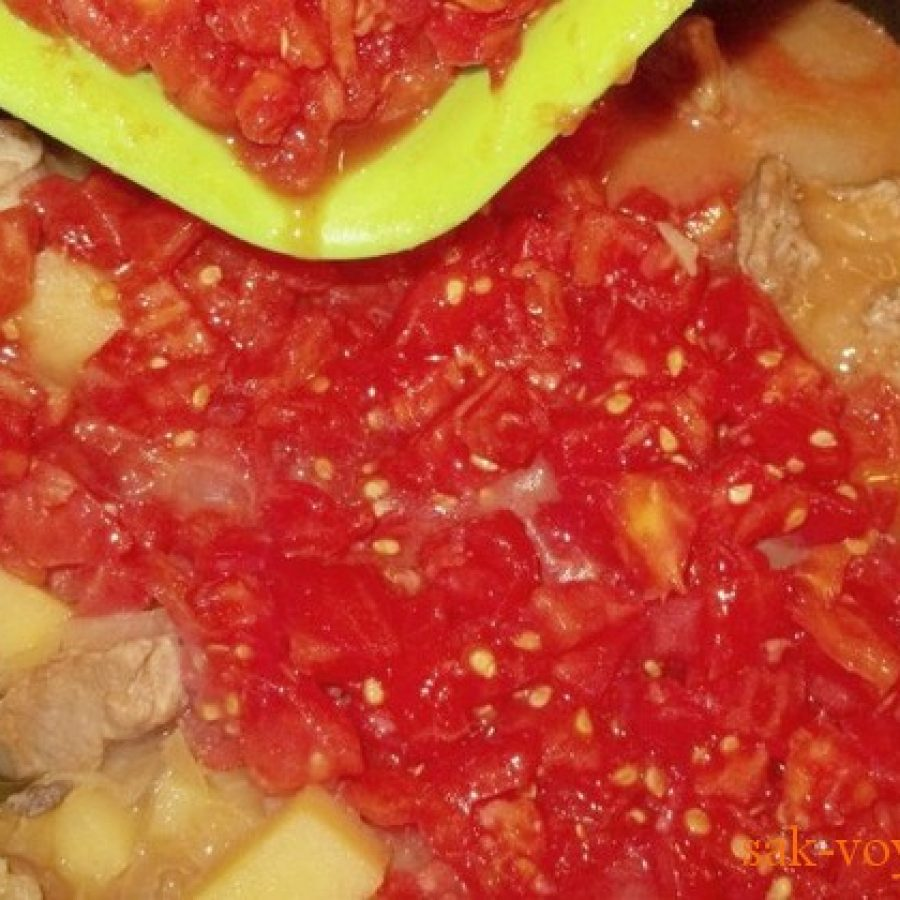 Блюдо грузинской кухни соузи, пошаговый рецепт с фото