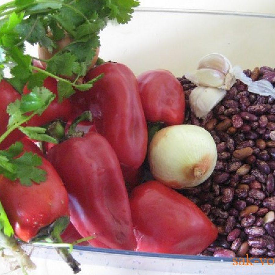 Как приготовить болгарский перец фаршированный фасолью