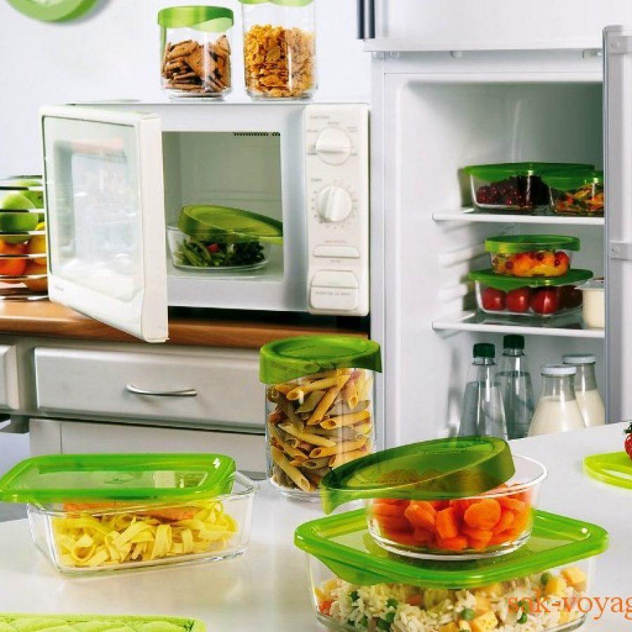 Пластиковые контейнеры для пищевых продуктов
