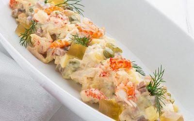 как приготовить оригинальный салат оливье