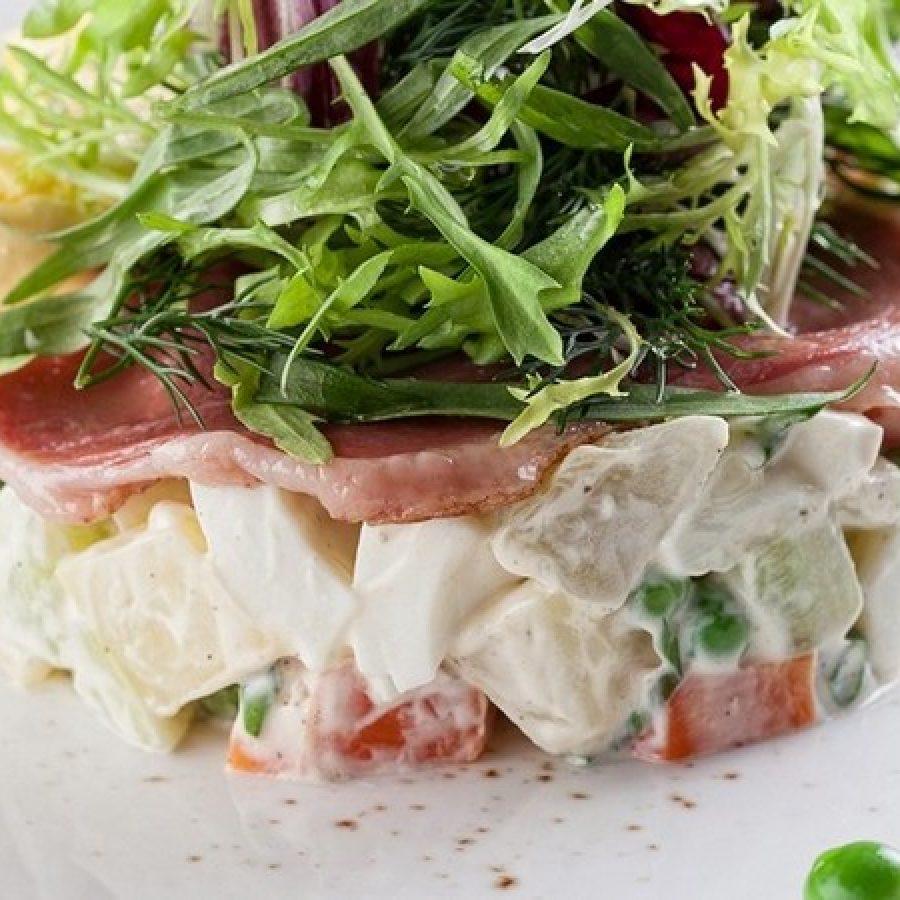 15 новых идей для салата оливье